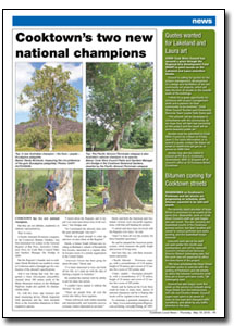 News Article : Cooktown Times
