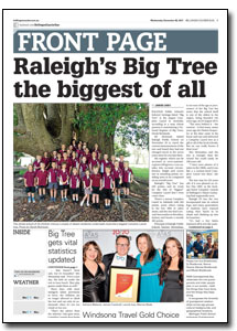 News Article : Bellingen Courier Sun