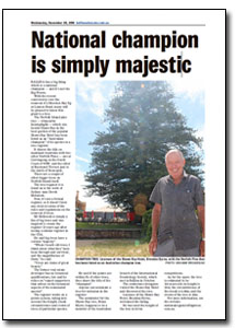 News Article : Ballina Advocate