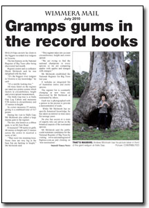 News Article : The Wimmera Mail