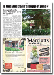 News Article : Kiama Independent