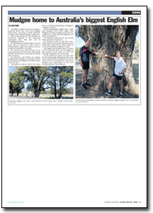News Article : Mudgee Guardian